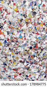 festive colorful paper confetti
