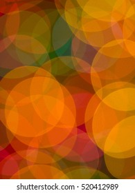 Festive diffused christmas light background