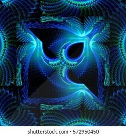 Festive kaleidoscope design
