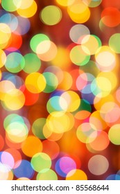 Festive lights. Can be used as background