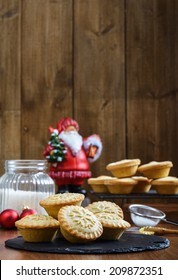 Festive mince pies for Christmas
