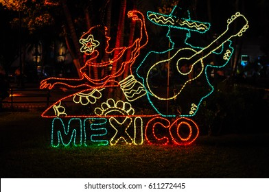 A festive night in Merida, Mexico