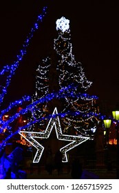 a festive walk through the streets of the old town