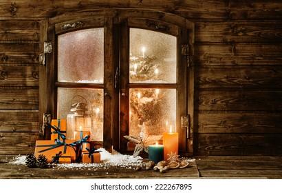 Christmas Cabin Images Stock Photos Vectors Shutterstock
