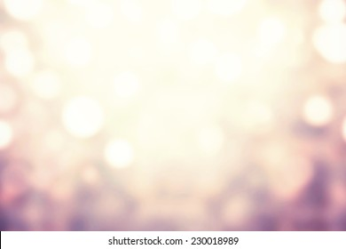 Festive xmas abstract background with bokeh defocused lights and stars. Boke twinkling Lights Festive holiday party background with blurry special magic effect.
