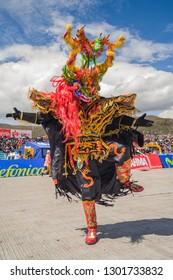 Festivity of the Virgin of the Candelaria. February 10, 2010, Puno - Peru