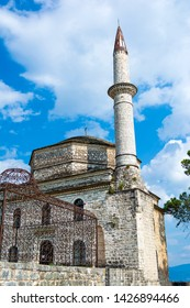 Fethiye Mosque with the Tomb of Ali Pasha on the left, Ioannina, Greece.