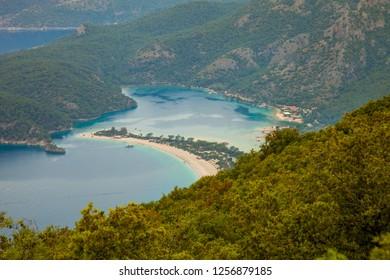 Muğla Fethiye Ölüdeniz Turkey oludeniz nuture bay beach