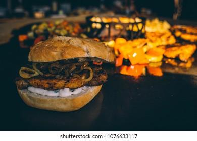 Feuerplatte, grill bbq