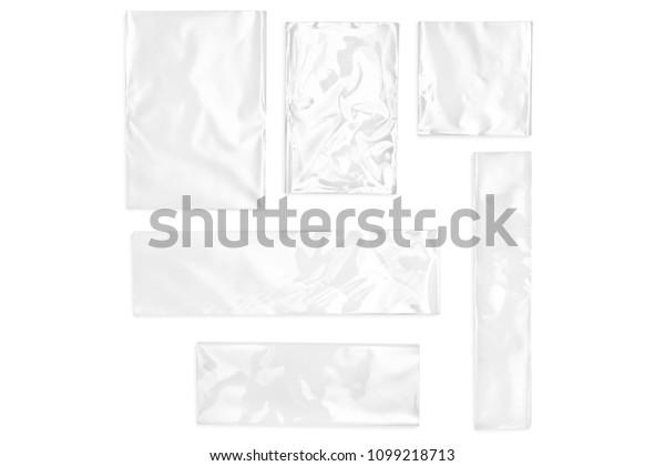discount shop wholesale online various design Few Cellophane Bags Candy White Bags Stock Photo (Edit Now ...