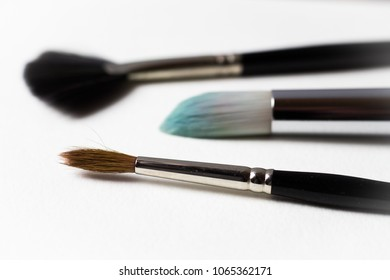A few favorite watercolor brushes