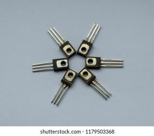 a few transistors