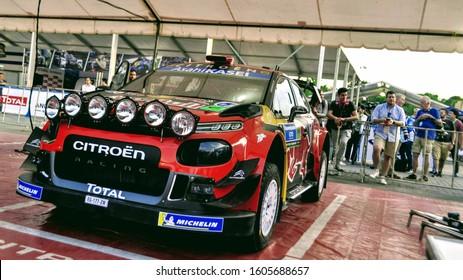 FIA World Rally Championship Rally México 2019. Sebastien Ogier (FRA) - Citroën C3 WRC - Citroën Racing. WRC Media Day in León, Guanajuato, México on March 06, 2019