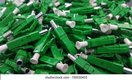 Fiber connector LCA