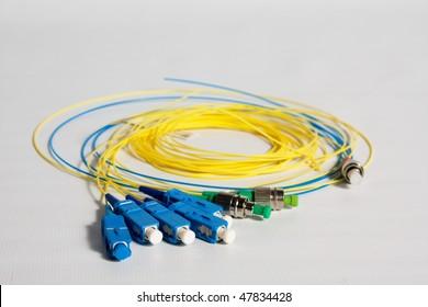 Fiber Optic Connector Images, Stock Photos & Vectors