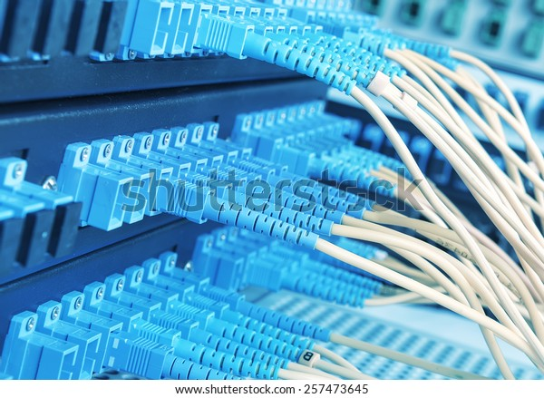 fiber optical Network connection