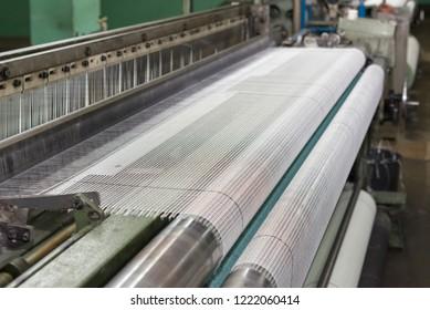 Fiberglass mesh making machine, building materials for wall insulation