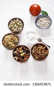 fiber-rich foods - vegetables and fruit