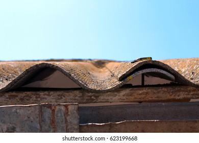 Fibre cement sheet roofing