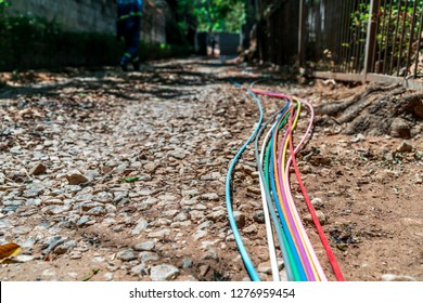 Fibre optic cables for fast internet connections in Africa