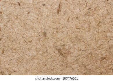 Fibrous heavily textured material
