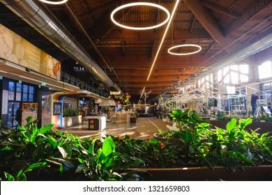 Fico Eataly World - the main corridor of the mall in Bologna, Italy, 05 Feb 2019