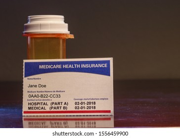 Fictitious Medicare Card for a Jane Doe