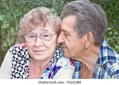fidelity of beautiful senior couple