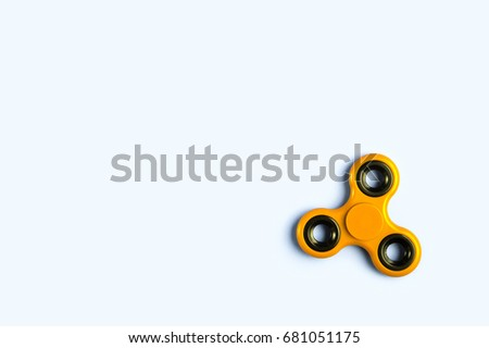 fidget spinner background template copy space stock photo edit now