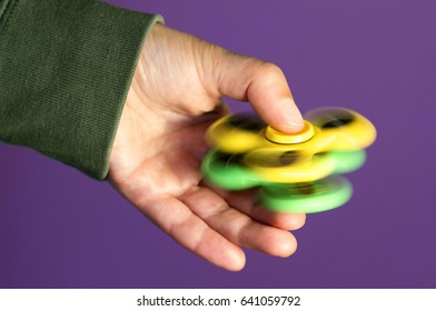 fidget spinners  toy to relieve stress