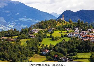 Fie allo Sciliar - Small cute town in Trentino-Alto Adige (Sudtirol), Italy