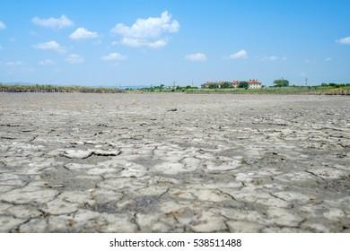 Field of dry mud 3
