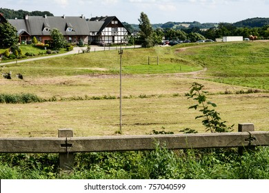 Field and hotel