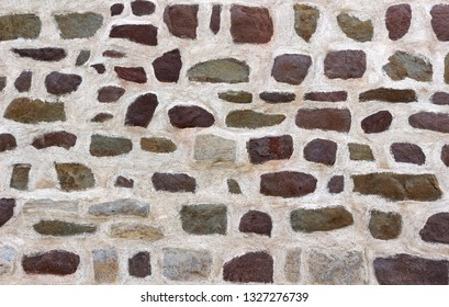 field stone wall, natural background