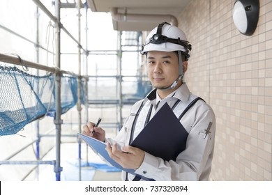 Field supervision at the construction site