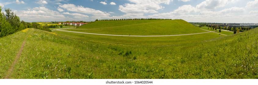 Fields in Salmdorf, Munich
