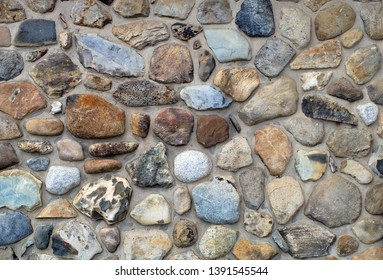 fieldstone wall stone rock texture pattern traditional architecture