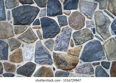 fieldstone wall texture stone rock natural background