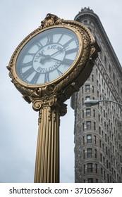 Fifth avenue & Flat Iron building