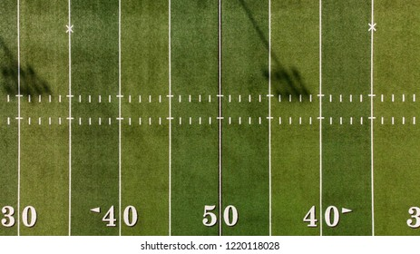 Fifty Yard Line Aerial View