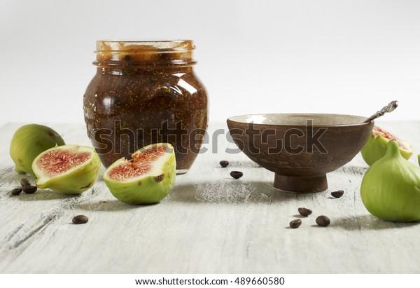 Fig and coffee marmalade