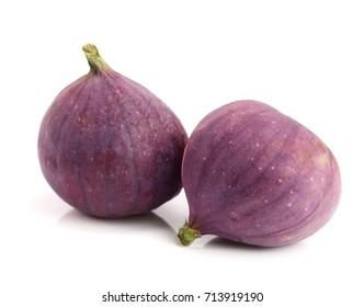 fig fruits isolated on white background