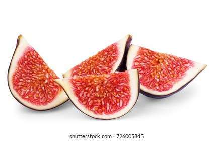 Fig isolated on white background. - Shutterstock ID 726005845
