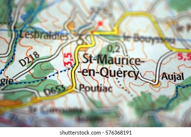 Topographic Map France Stock Photos Images Photography Shutterstock