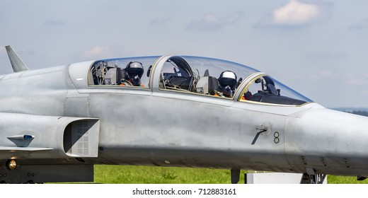 Fighter jet double seat