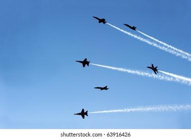 fighter jets like flies