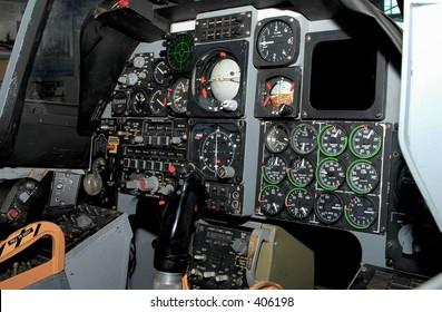 Fighter Plane Cockpit