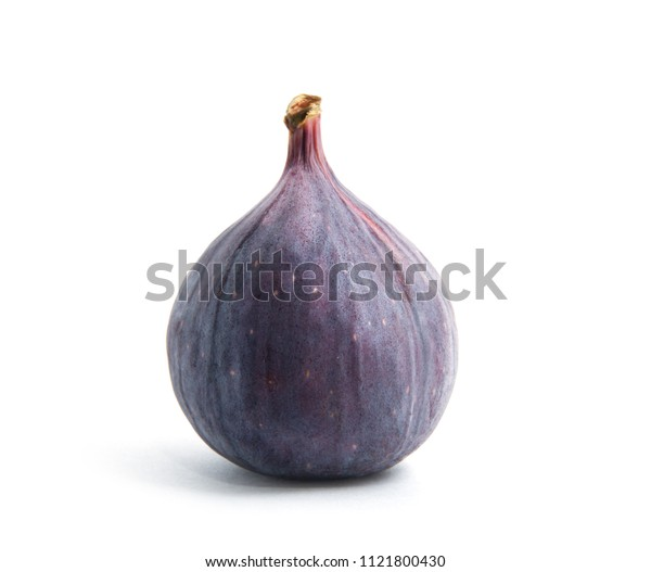 Figs isolated on white background.