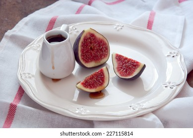 Figs and maple syrup, Figs and Honey, Figs sweet sauce