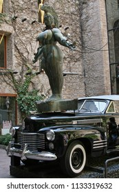 FIGUERES, SPAIN - AUGUST 12, 2007: The Dali Museum in Figueres. Spain